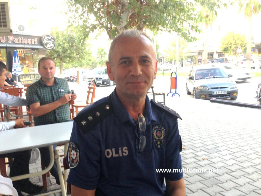 "BAŞKOMİSER ALİ SERBAN: ""BENİM BİRİNCİ DERDİM MUT'LULARIN HUZURUDUR!"""