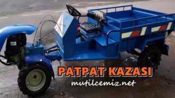 MUT'TA PATPAT MOTORU DEVRİLDİ: 7 YARALI