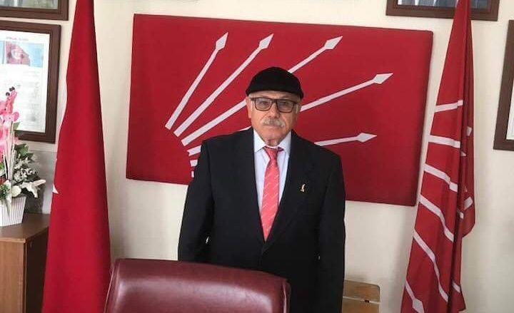 CHP MUT'TA İLÇE BAŞKANI DEĞİŞTİ