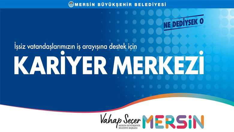 """BÜYÜKŞEHİR'İN """"KARİYER MERKEZİ"""" AÇILDI"""