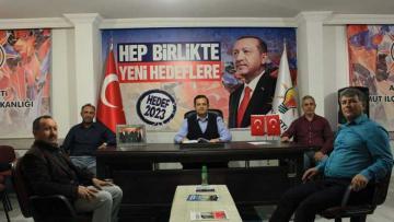 AKP MUT İLÇE BAŞKANI HASTANE HAKKINDA BİLGİLENDİRDİ