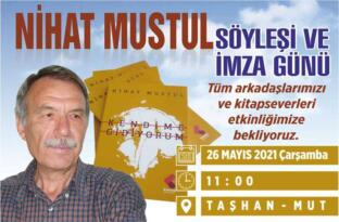 NİHAT MUSTUL'DAN TARİHİ TAŞHAN'DA İMZA GÜNÜ